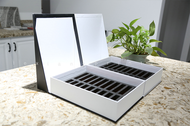 lexiang Flip cover stone display box04