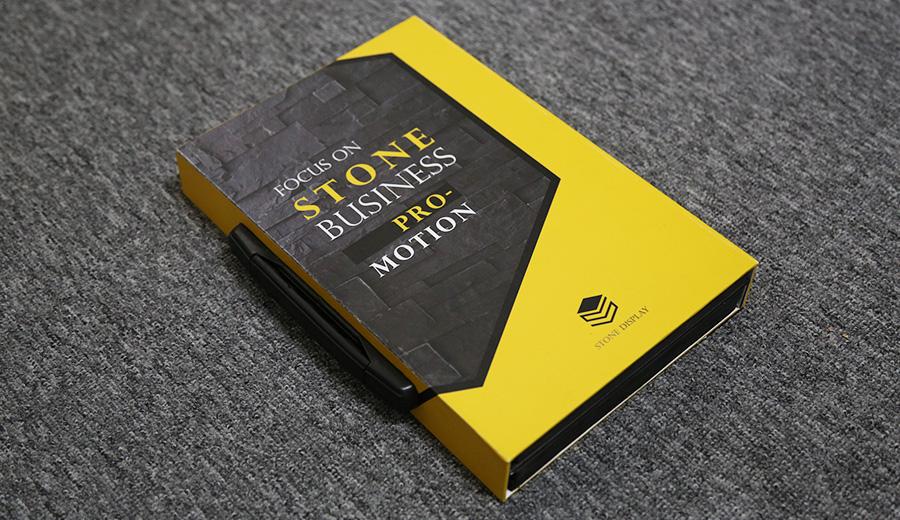 Stone Display Book, Stone Sample Box