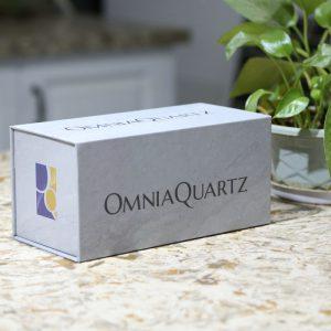 Sample box for quartz marble granite sample tile
